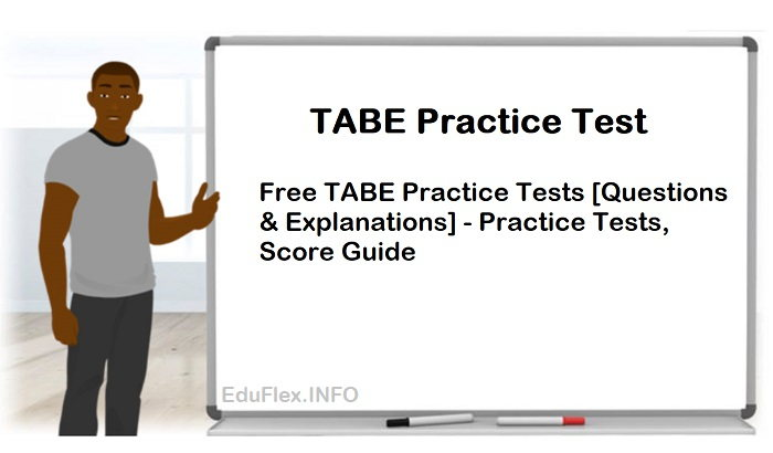 Free TABE Practice Test - Practice Tests, Score Guide